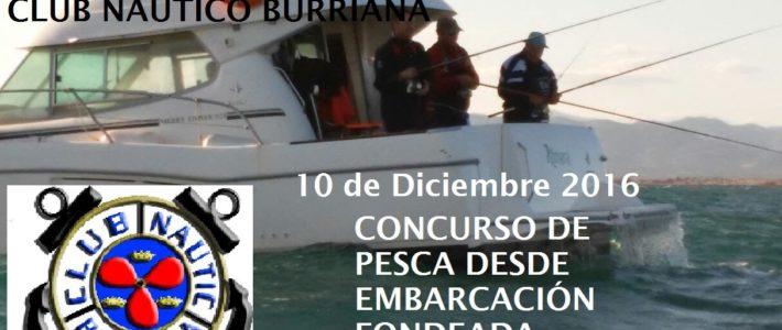 III CONCURSO NAVIDEÑO DE PESCA FONDEADA ; CLUB NÁUTICO BURRIANA – ARGENTA –  (CLASIFICACIONES)