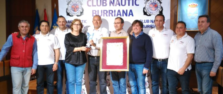 Recepción Ayuntamiento de Burrriana  a los flamantes campeones del campeonato de España de Pesca fondeada.