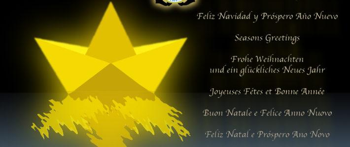El Club Náutico Burriana desea a todos sus socios y amigos una Feliz Navidad y un Próspero Año 2018!!!