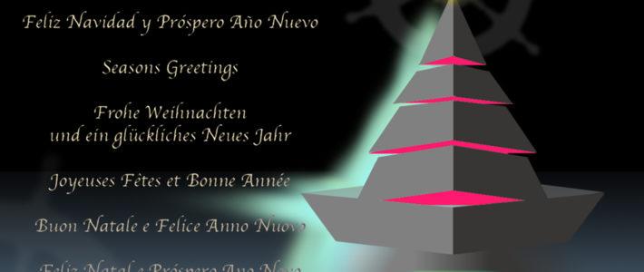 El Club Náutico Burriana desea a todos sus socios y amigos una Feliz Navidad y un Próspero Año 2020!!!