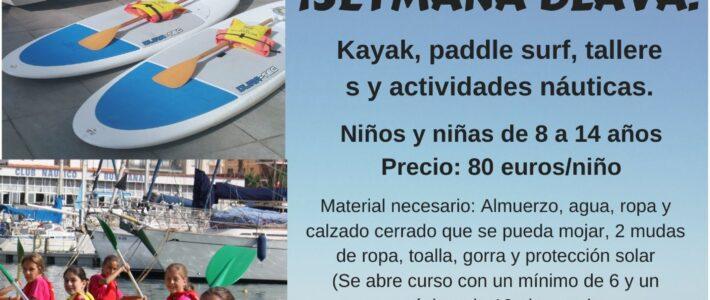 CAMPUS ESCUELA NÁUTICA VERANO 2020 / FECHAS
