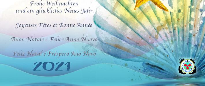 ¡EL CLUB NÁUTICO BURRIANA DESEA A SUS SOCIOS Y AMIGOS UNA FELIZ NAVIDAD Y PROSPERO 2021!