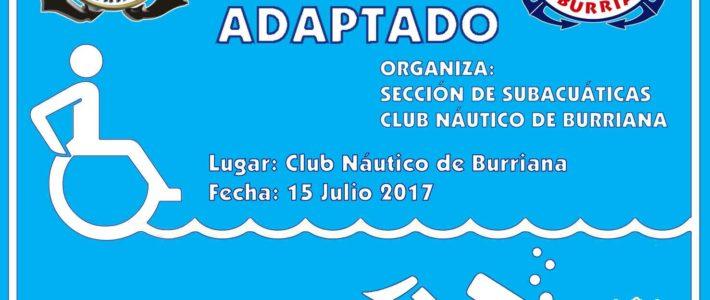 BAUTISMO DE BUCEO ADAPTADO PARA «JOVES PER BORRIANA»- Sábado 15 de julio en el Club Náutico Burriana – FOTOS