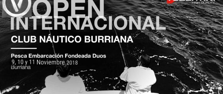 V OPEN INTERNACIONAL – PESCA  EMBARCACIÓN FONDEADA DUOS – CLUB NÁUTICO BURRIANA