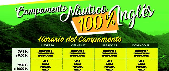 Campamento Náutico en Inglés. Infórmate.